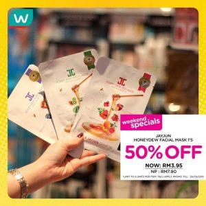Watsons週末大促銷 商品折扣高達50%、買一送一! - hmitalk.com