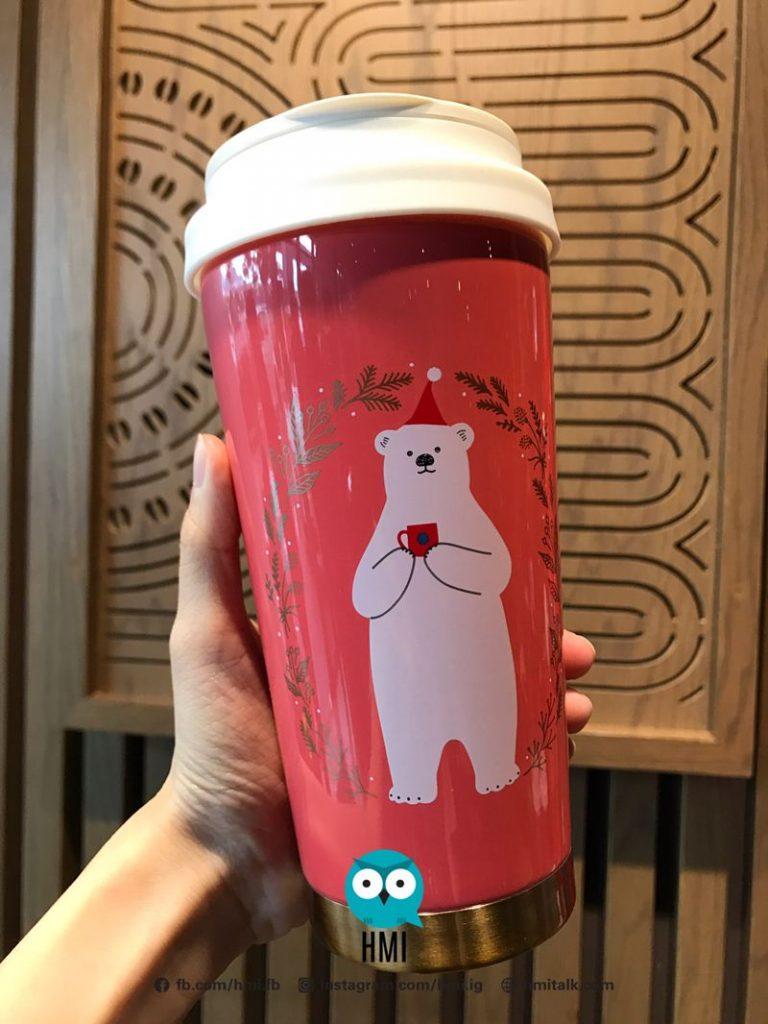 大馬Starbucks推出圣诞新品! 饮料有雪人 北极熊呆萌登场! - hmitalk.com