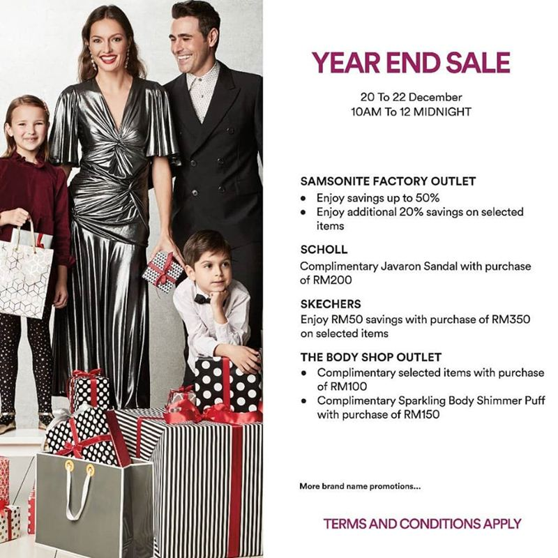 柔佛Premium Outlets年終大促銷!Gucci等名牌折扣高達80%!**內附完整列表 - hmitalk.com
