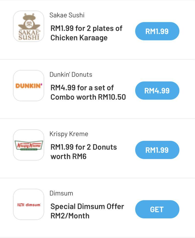 Digi用戶買Starbucks只需RM8.22、2杯老虎堂才RM9.99! - hmitalk.com