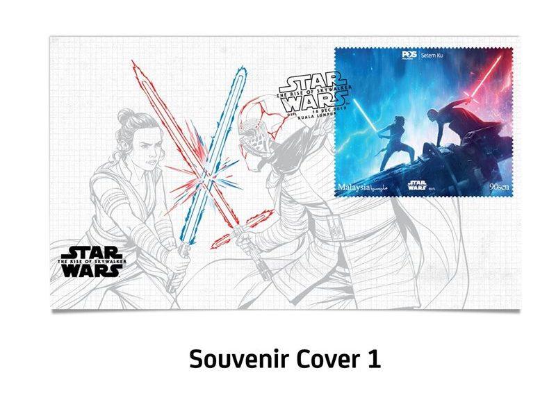 大馬郵政局發行Star Wars限量郵票套組!每set售价RM120 - hmitalk.com