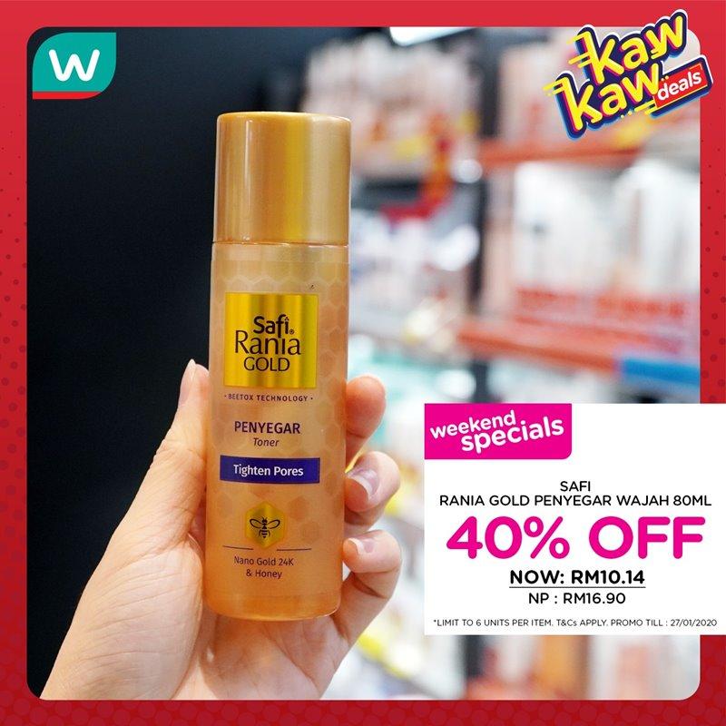 Watsons舉行大促銷!護膚品折扣高達40% - hmitalk.com