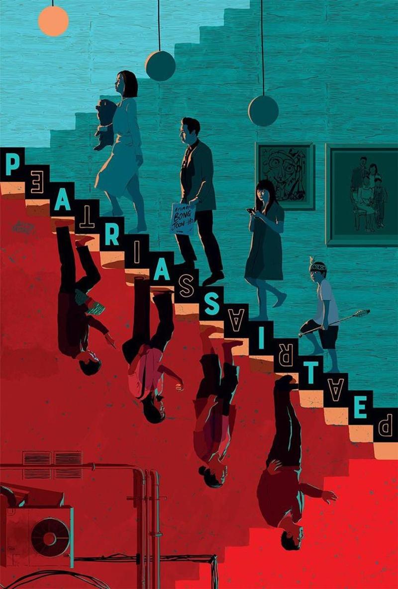 細思極恐! 世界各地《寄生蟲》海報 每張都太有戲了 - hmitalk.com