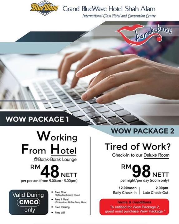 【不想在家工作】大馬11家Work From Hotel促銷,最低只需RM19! - hmitalk.com