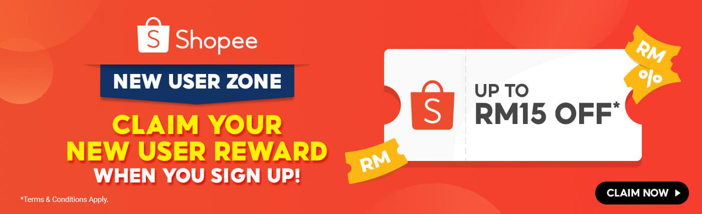 Shopee New User Zone – Big Leader Board