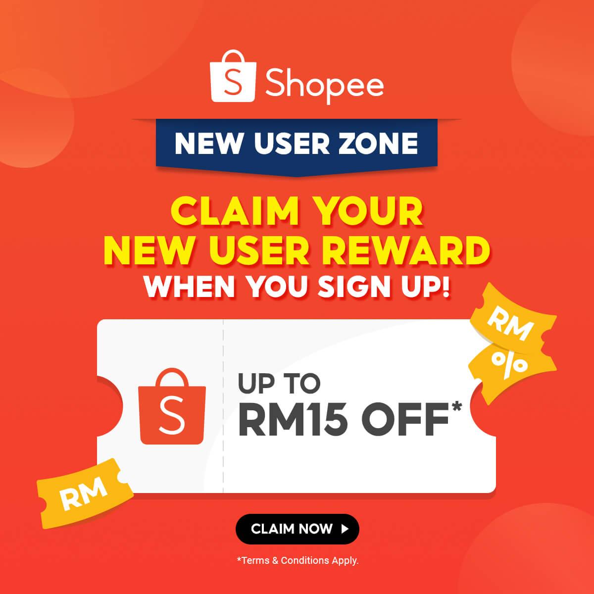 Shopee New User Zone – Square